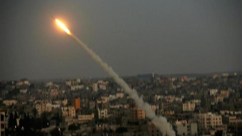 The Qassam Brigades have fired hundreds of rockets into Israel [AP]
