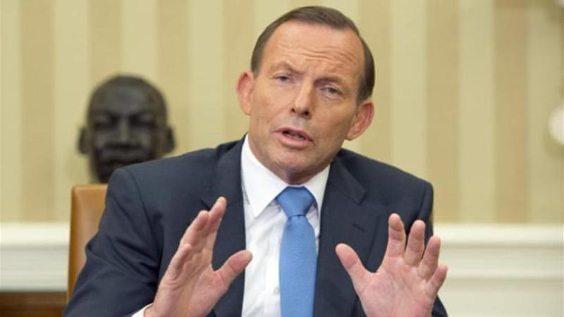 Prime Minister Tony Abbott has said that he refuses to refer to 'occupied' East Jerusalem [Getty Images]