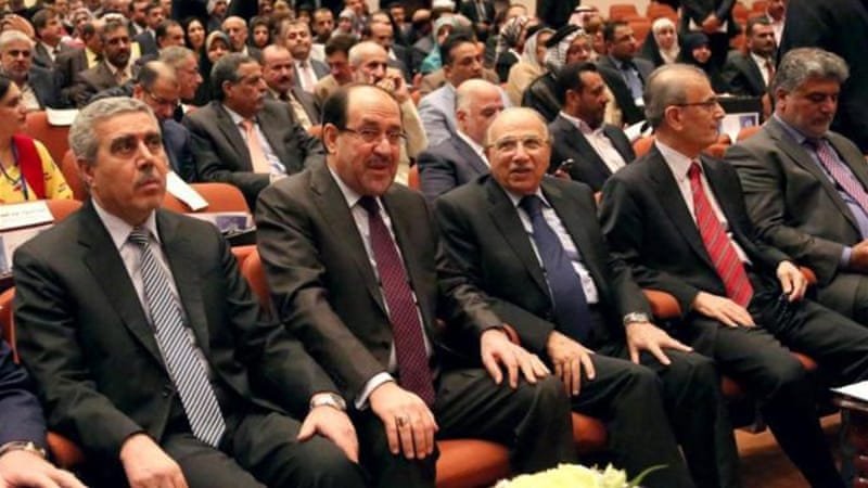 Iraqi Prime Minister Nouri al-Maliki has lost the support of the Islamic Dawa Party, writes al-Khoei [AP]
