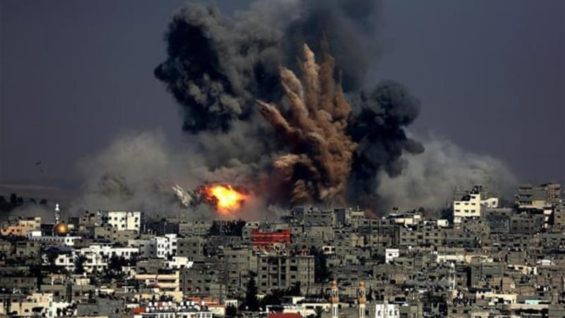 More than 1,300 Palestinians have been killed in the Israeli offensive on Gaza [EPA]