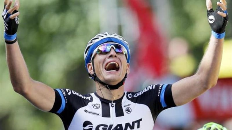 Kittel takes Tour de France opener