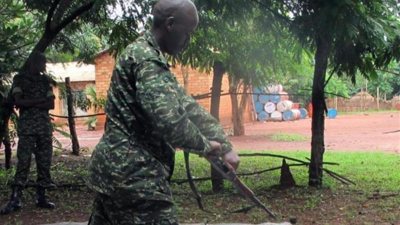 The Ugandan military says the operation is ongoing [AP]