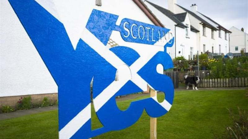 The Scottish independence referendum is scheduled for September [Getty Images]