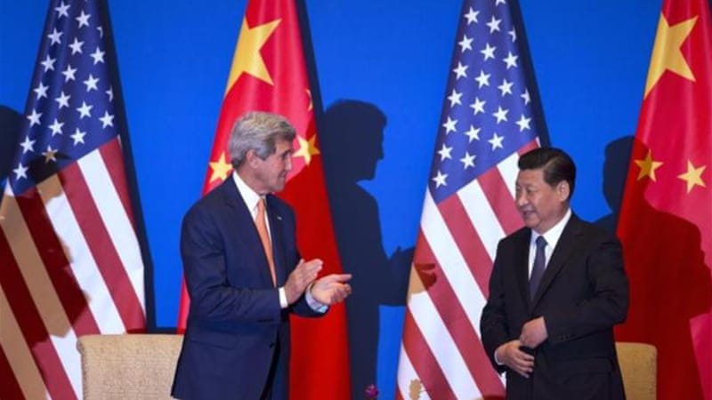 Washington has also begun to push for China to move to a market-driven exchange rate [AP]