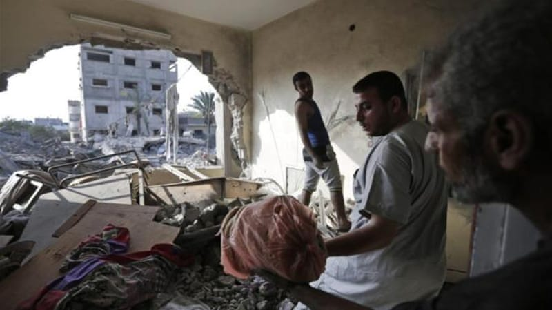 In Gaza, 80 percent of Palestinians are dependent on aid [AP]