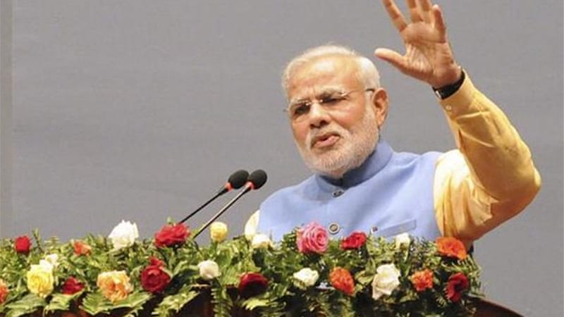 Narendra Modi will also visit troops and open two hydropower plants in the disputed Himalayan region [Reuters]