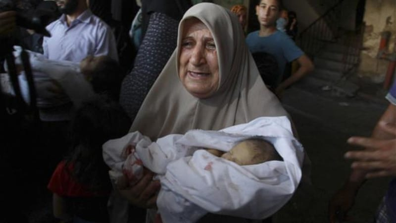 'A baby killed by soldiers is a baby killed by soldiers,' writes Kendzior [AP]