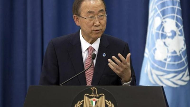 The UN secretary general can be effective only when the UN is united, writes Bishara. [AP]