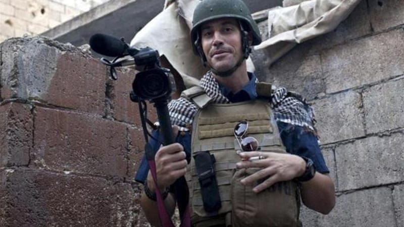 IS group claims beheading US journalist