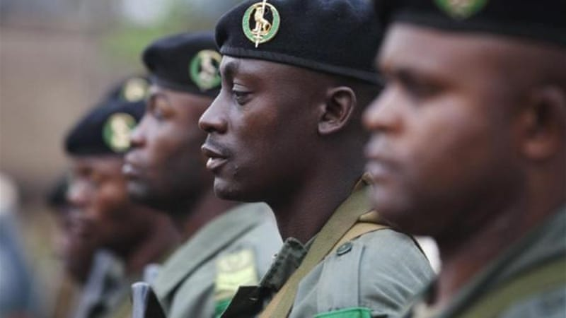 UN troops will be taking over peacekeeping duties from an African force [Reuters]