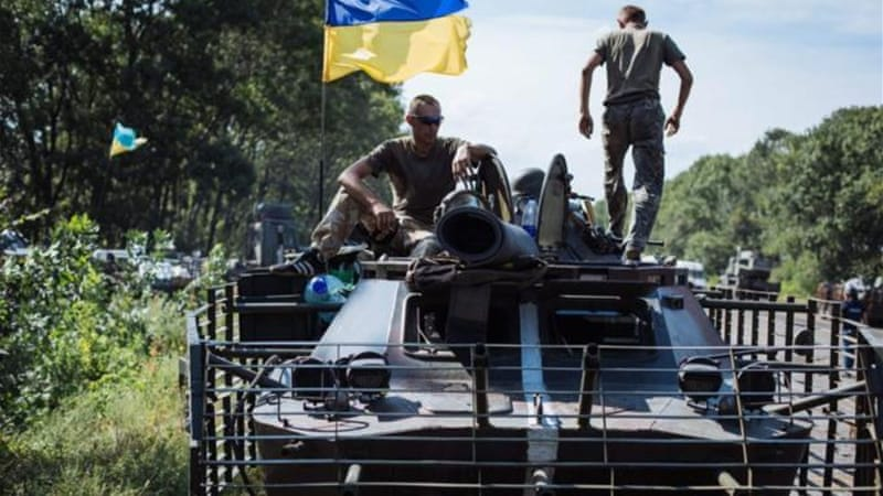 Ukraine's army has been battling pro-Russian rebels for months [EPA]