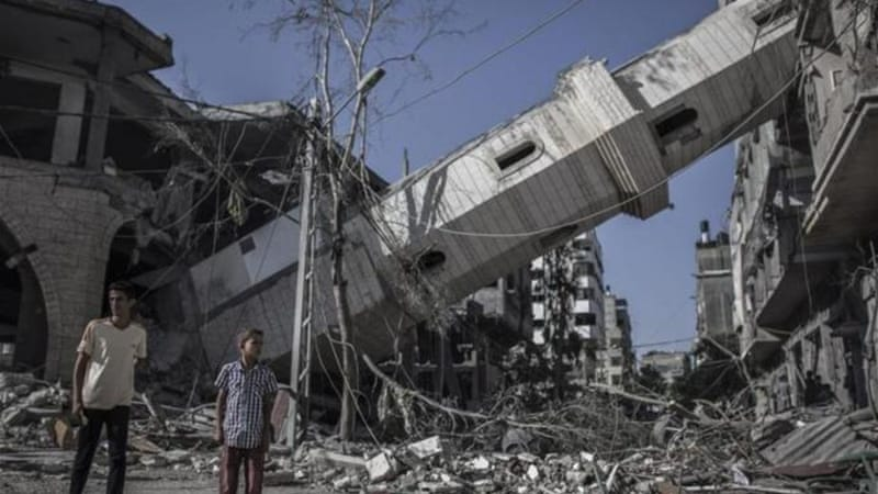 Hamas and Israel blamed each other for the breakdown in the latest humanitarian ceasefire [EPA]