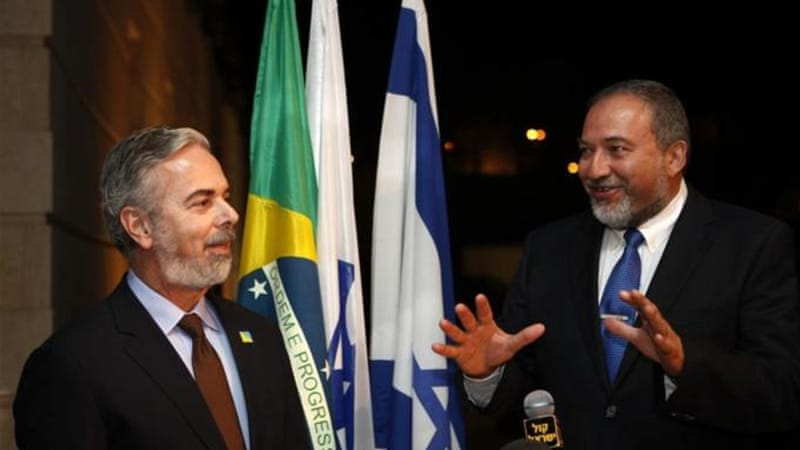 An Israeli official recently called Brazil a 'diplomatic dwarf' [AFP/Getty Images]