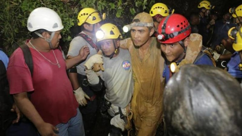 Authorities said they were trying to confirm whether any miners had died [AFP]