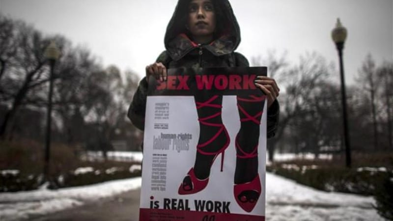 Prostitution can happen to any woman, but the risk is much greater for marginalised women, writes Murphy [AP]
