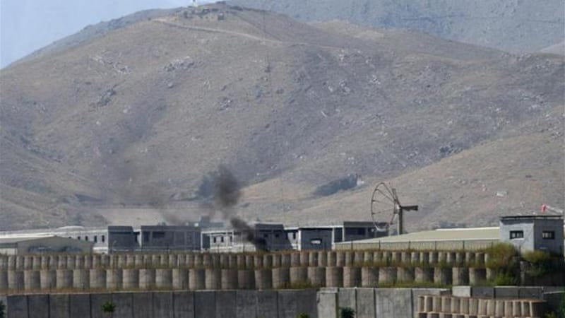 The deadly incident happened at Camp Qargha, a base west of the Afghan capital, Kabul [AFP]