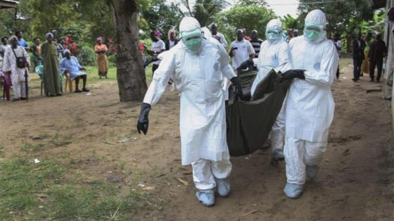 The Ebola virus has killed at least 282 people in Liberia alone, and 932 in total [EPA]