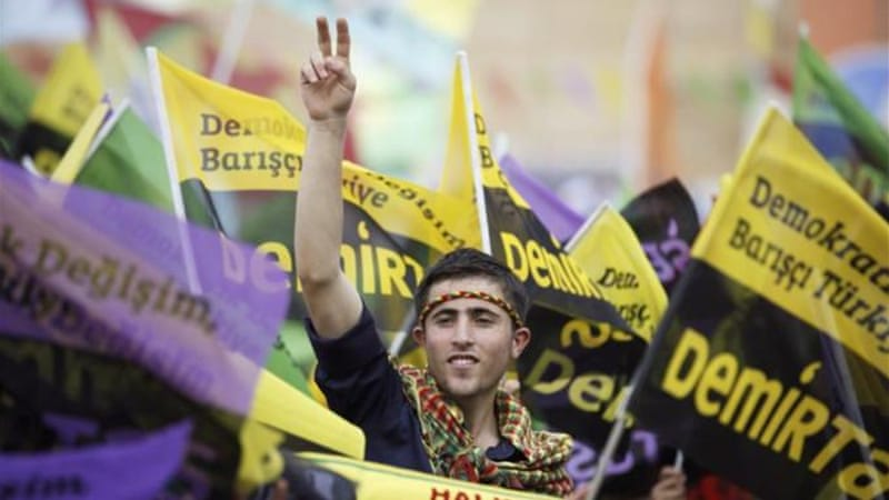 Selahattin Demirtas's campaign has attracted Turkish leftist voters, writes Goksel [Reuters]