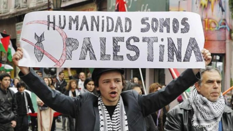 The left in Latin America has traditionally supported Palestine, but this time around they have been joined by the moderate pragmatic left, writes Khatib [Reuters]