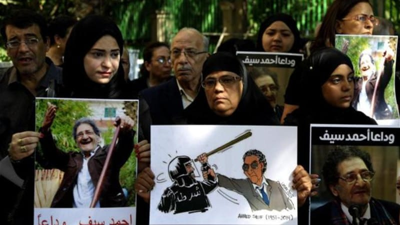 Egypt's human rights community is one of the most important in the Arab world, writes LeVine [AP]