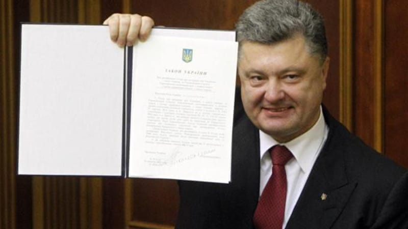 Ukraine Ratifies Key Eu Association Deal News Al Jazeera