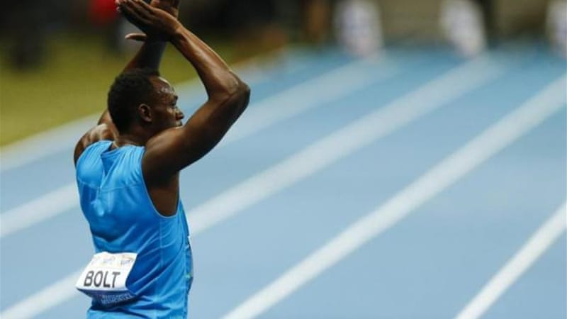 Bolt will not be running again this season [REUTERS]