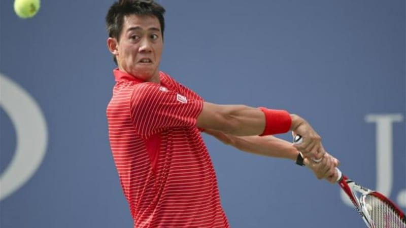 Kei Nishikori became Japan's first semi-finalist in the US Open in almost a century [AP]
