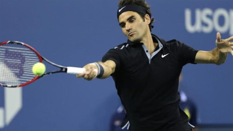 Misfiring most of the night, Federer slowly began to find his mark in the match [AP]