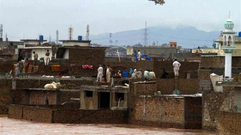 Pakistan, like neighbouring India, suffers widespread flooding during the annual monsoon season [EPA]