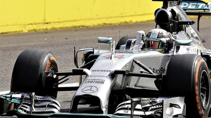 Hamilton is now 22 points behind Rosberg in the championship [Reuters]