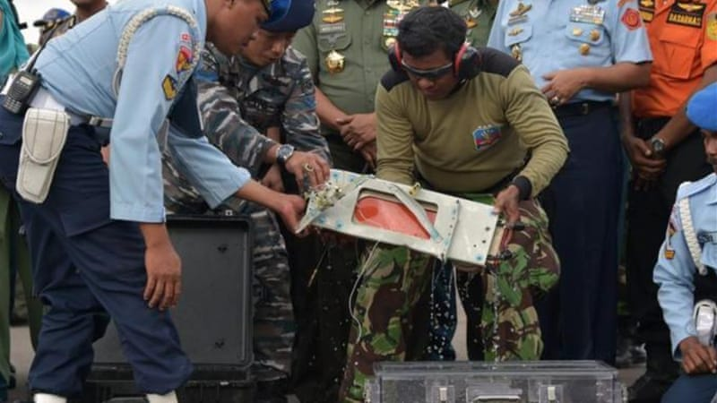 On Monday, Indonesian drivers retrieved a flight data recorder that could help explain what caused the crash [AFP]