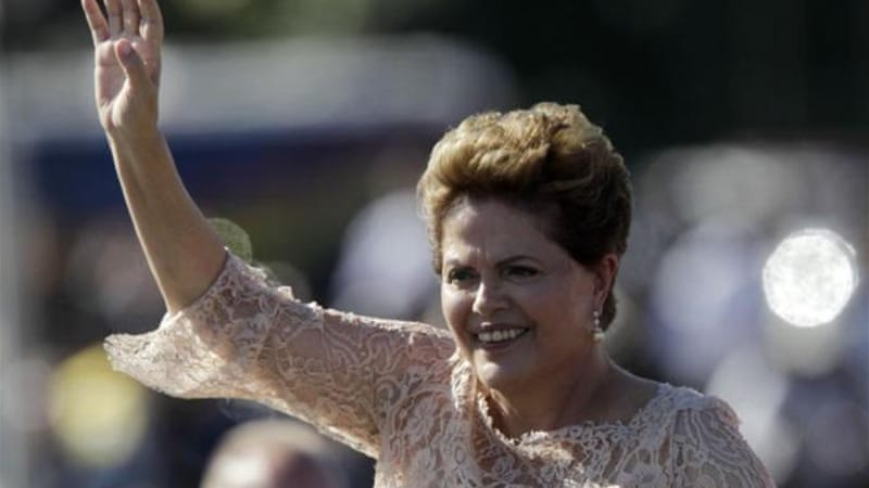 Rousseff won re-election in October with a narrow margin that largely split Brazil between the poor and the rich [AP]