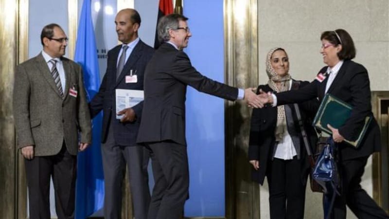 Rival Libyan parliament suspends UN-sponsored talks over escalation of violence [AFP]