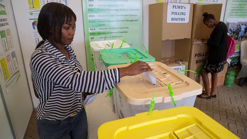 Kenya Election 2017: Women fight for power
