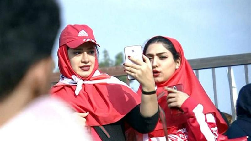 Iranian football reaches new heights, female supporters want in