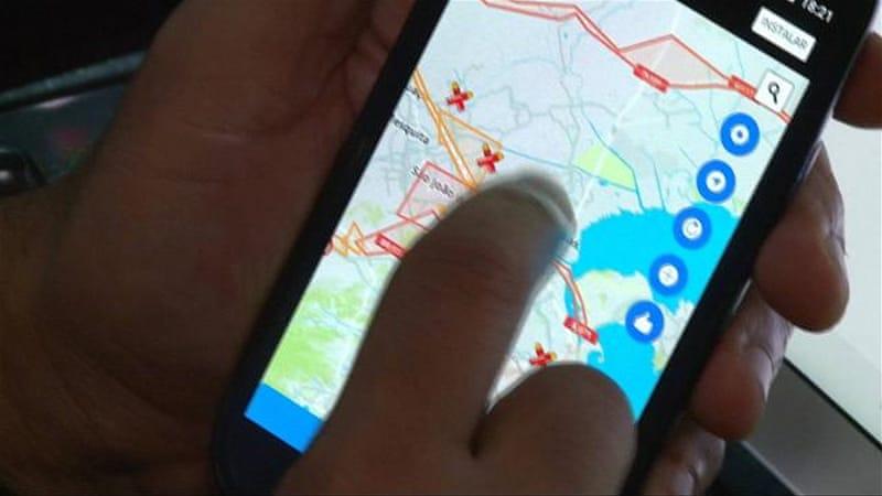 Brazil apps track gunfire as Rio violence spikes