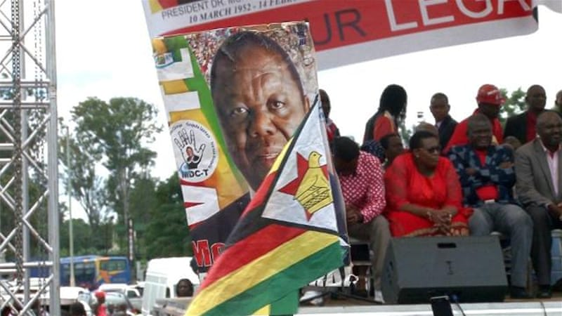 Zimbabwe opposition prepares for election
