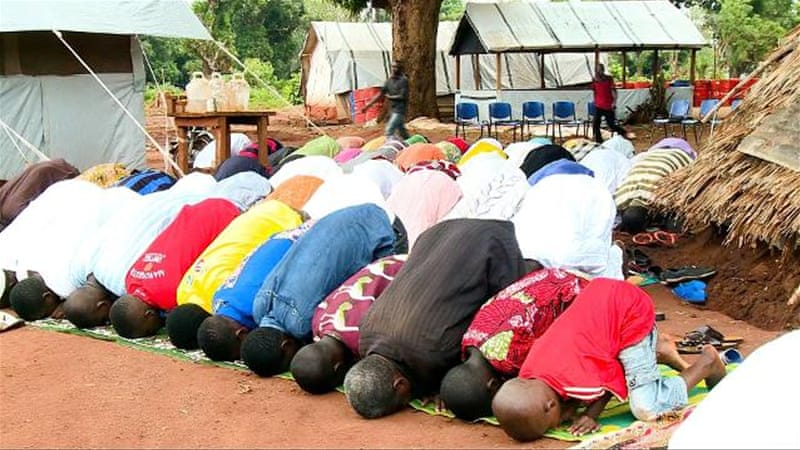 Muslims trapped in Central African Republic church