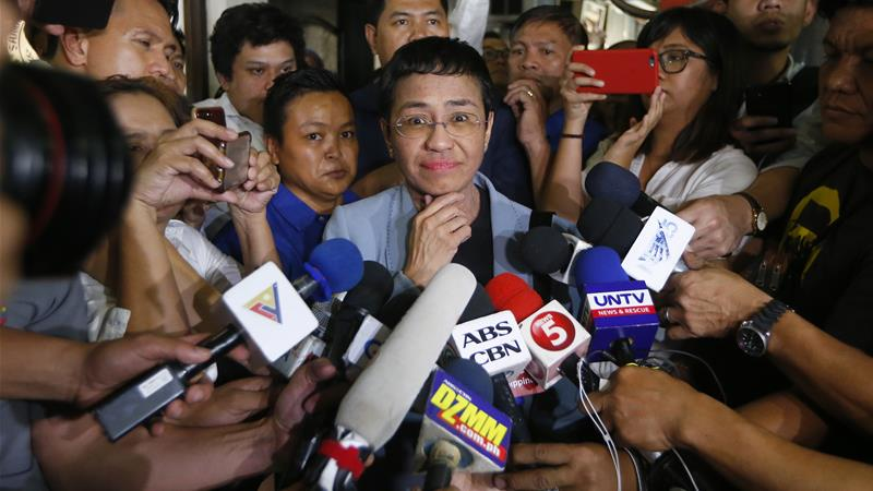 Is there a war on truth? A conversation with Maria Ressa