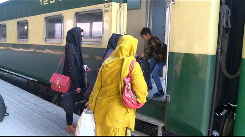 India-Pakistan railway: Samjhauta Express train service