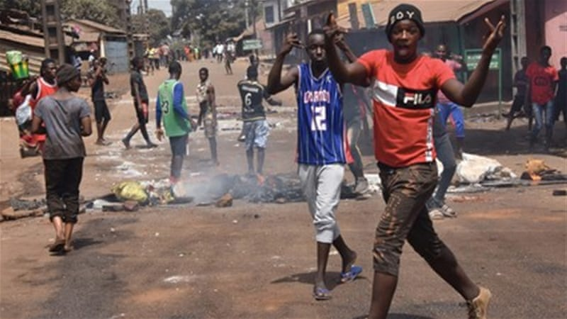 Guinea protests: Renewed calls for president's resignation