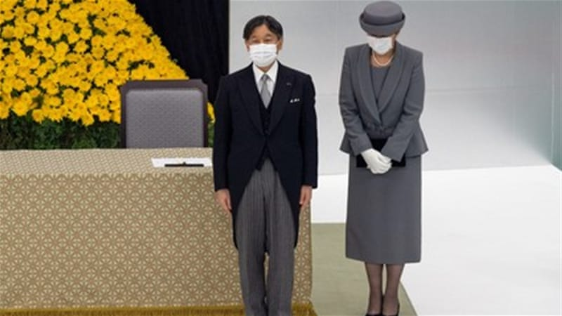 Japan marks 75 years since end of World War II