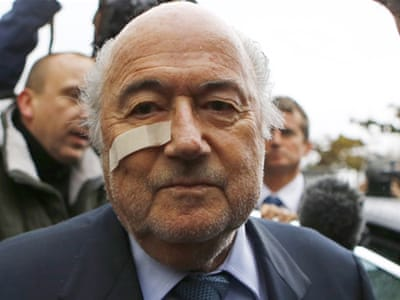 'I'll be back', vows Blatter after football ban