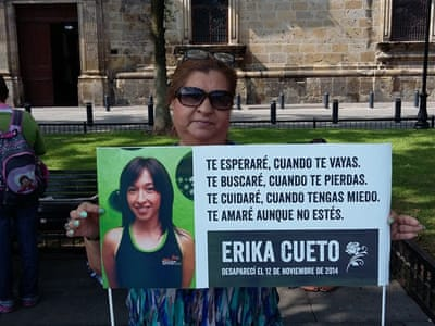 Desperate relatives denounce disappearances in Mexico