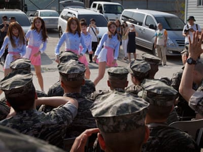 The South Korean marines on the North's doorstep