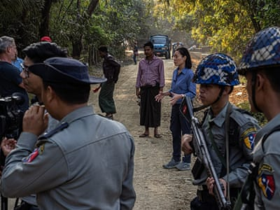 Surveillance, fear: The perils of reporting in Myanmar's Rakhine