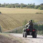 What happened to Ukraine's border wall against Russia?