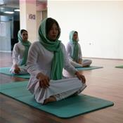 Afghanistan's only yoga studio: A calm oasis for war-weary women