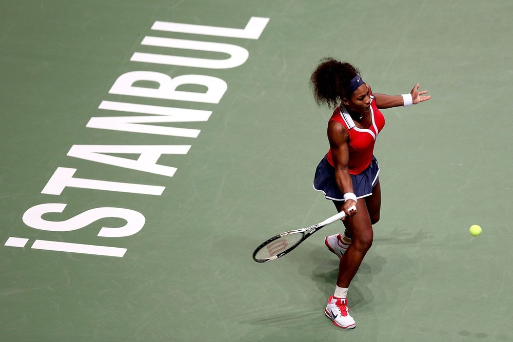 The WTA Championships sees world(***)s top eight female players compete for the final title of the season. Despite being the number three seed, Serena Williams enters the competition in Istanbul as unofficial favourite. The American opened with convincing win over Angelique Kerber