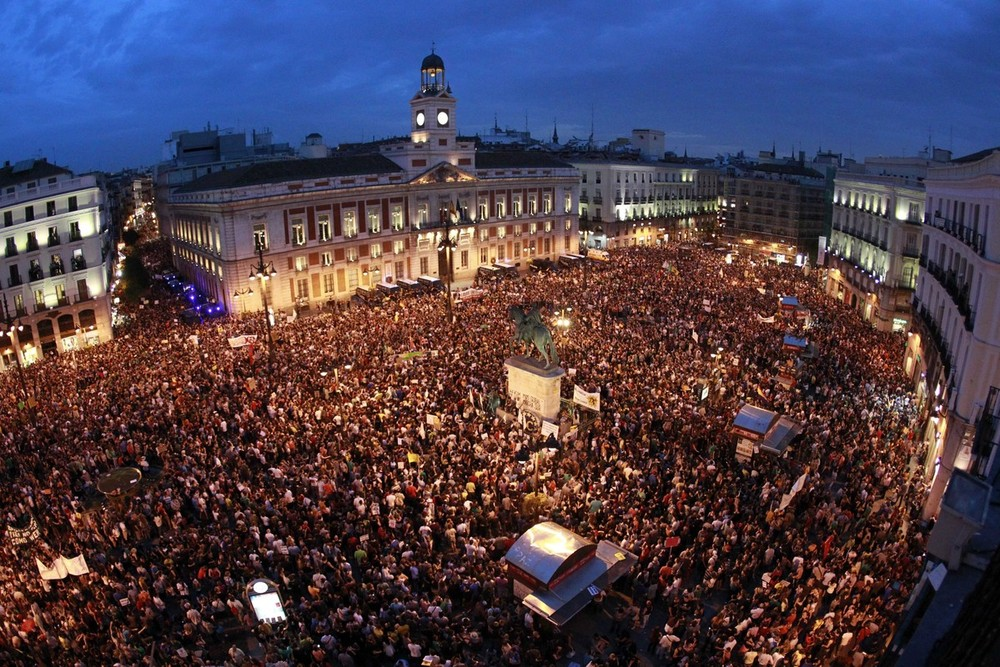 The week in pictures al jazeera for Puerta del sol hoy en directo